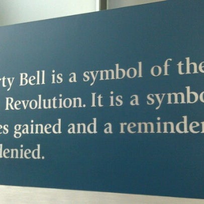 Photo taken at Liberty Bell Center by Jacqueline R. on 8/3/2012