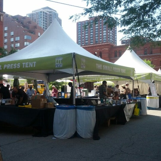 Photo taken at Printers Row Lit Fest by Jeffrey P. on 6/10/2012