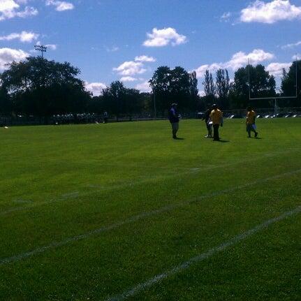 Photo taken at Warner Park by Travis W. on 9/8/2012