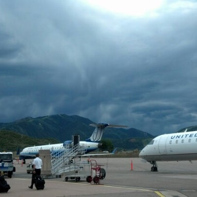 Photo taken at Aspen/Pitkin County Airport (ASE) by amy cesario D. on 7/22/2012