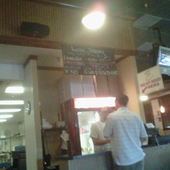 Photo taken at Stone Mountain Pizza Cafe by H R. on 5/19/2012