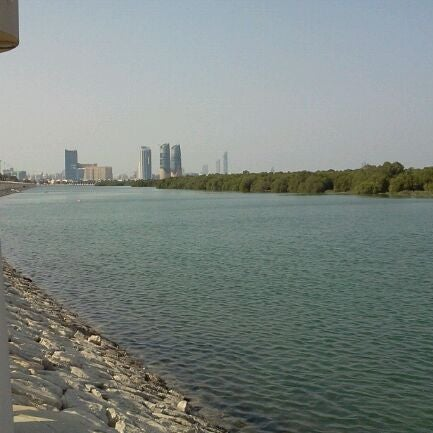 Photo taken at Eastern Mangroves Corniche by Seham Y. on 11/26/2011