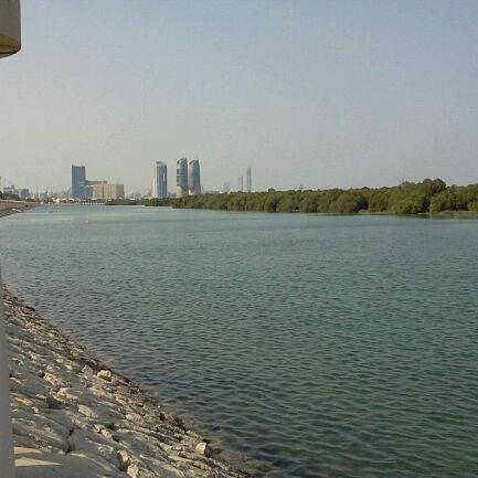 Photo taken at Corniche Al Gorm by Seham Y. on 11/26/2011