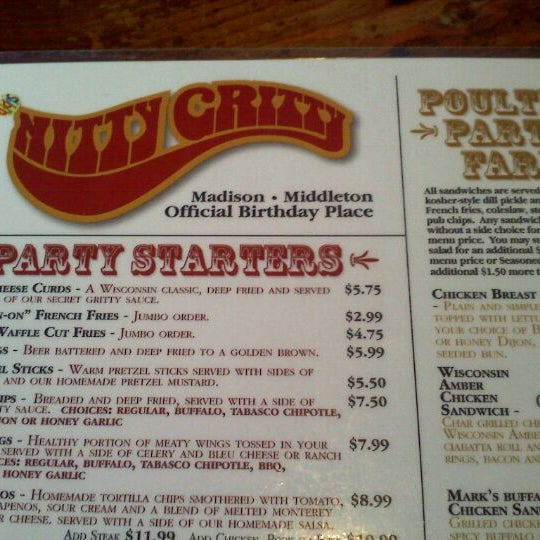 Photo taken at Nitty Gritty Restaurant & Bar by Brittany G. on 10/21/2011
