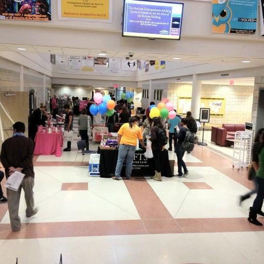 Photo taken at Carmichael Student Center by Sara B. on 4/18/2012
