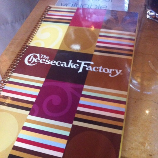 Photo taken at The Cheesecake Factory by Khalaf V. on 7/13/2012