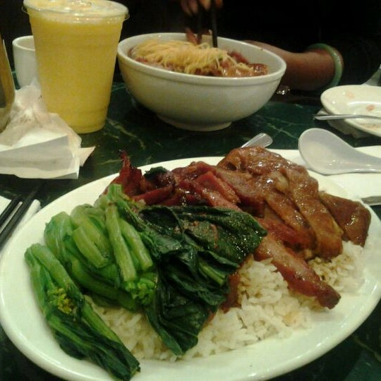 Photo taken at Sang Kee Peking Duck House by Veronica B. on 1/25/2012