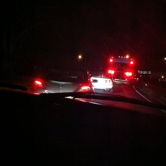 Photo taken at Garden State Parkway -- Saddlebrook by Theresa F. on 12/15/2011