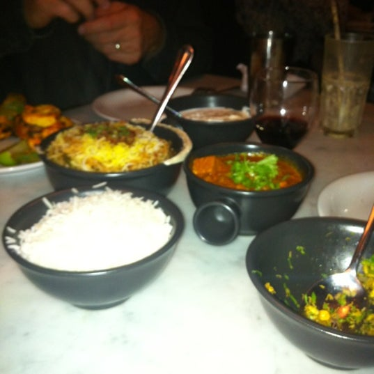 Photo taken at Dishoom by Natasha R. on 11/17/2012