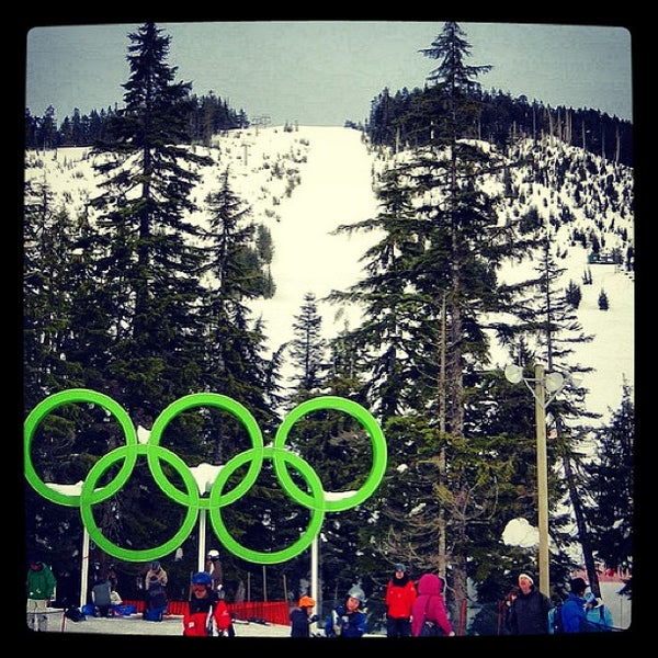 Photo taken at Cypress Mountain Ski Area by Anto C. on 2/23/2013