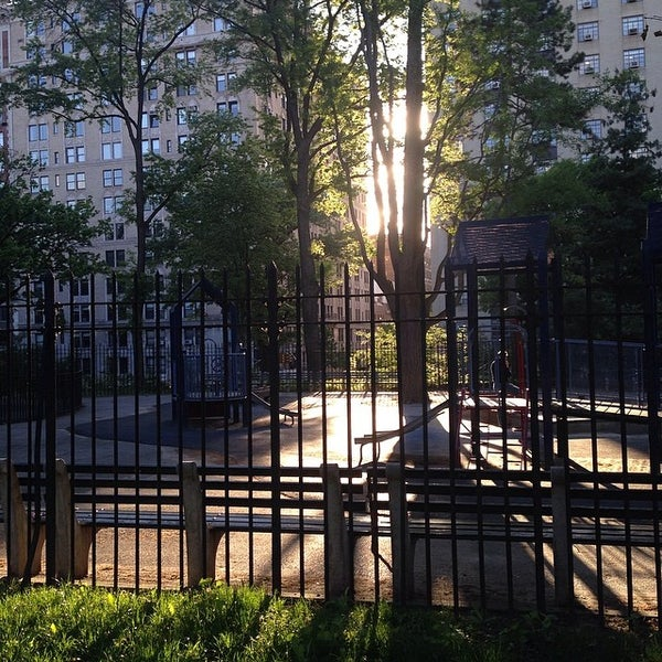 Photo taken at Central Park - Mariners' Gate Playground by rob z. on 5/18/2014