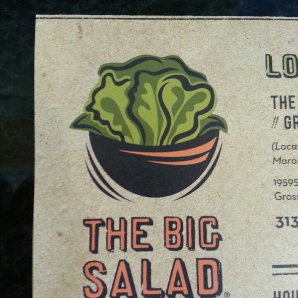 Photo taken at The Big Salad by Gordon C. on 4/29/2013