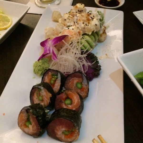 Photo taken at Blu Sushi by Hannah M. on 1/9/2014