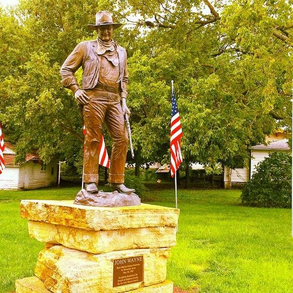 Photo taken at John Wayne Birthplace Museum by Jason C. on 8/29/2014