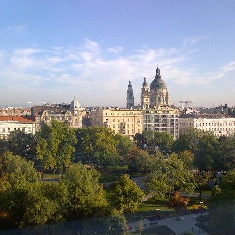 Photo taken at Kempinski Hotel Corvinus Budapest by Vítek Š. on 9/26/2012