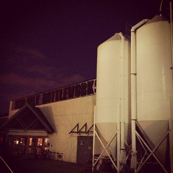 Photo taken at Schlafly Bottleworks by Christopher on 1/13/2013