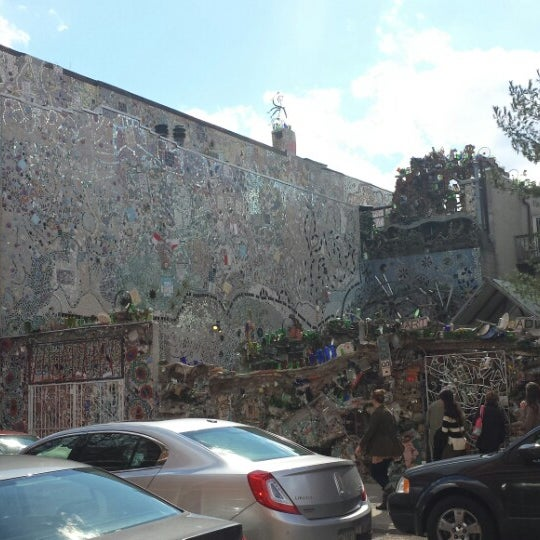 Photo taken at Philadelphia's Magic Gardens by Steve T. on 3/15/2014