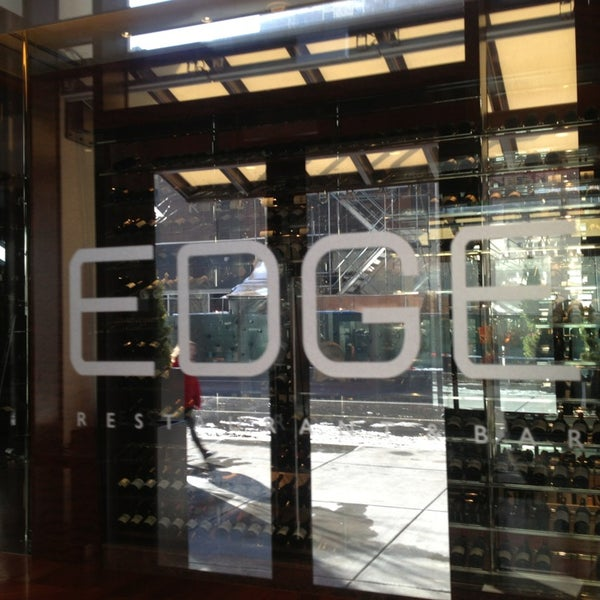 Edge Restaurant Denver Menu