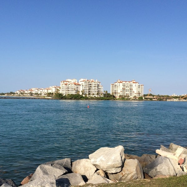 Photo taken at South Pointe Pier by Tim J. on 5/24/2014