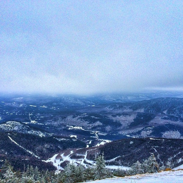 Photo taken at Whiteface Mountain by Tyler L. on 3/14/2014
