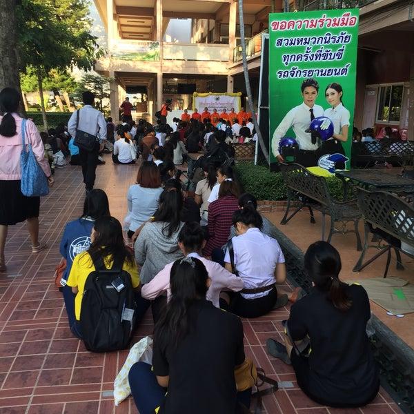Photo taken at มหาวิทยาลัยราชภัฏเชียงใหม่ (Chiang Mai Rajabhat University) by Bam S. on 11/1/2015