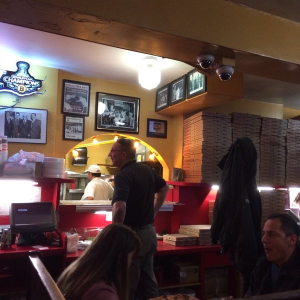 Photo taken at Regina Pizzeria by Kimberly W. on 1/10/2014