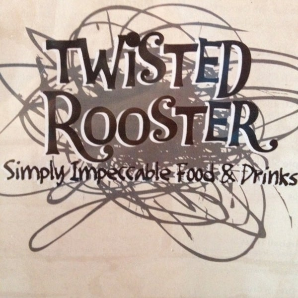 Photo taken at Twisted Rooster by Sophia H. on 1/11/2013