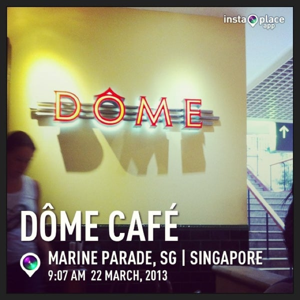 Photo taken at Dôme Café by David lim Z. on 3/22/2013
