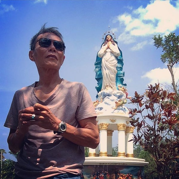 Photo taken at Gua Maria Kerep by Masahat Basana T. on 9/9/2015