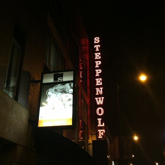 Photo taken at Steppenwolf Theatre Company by Bill D. on 11/2/2012