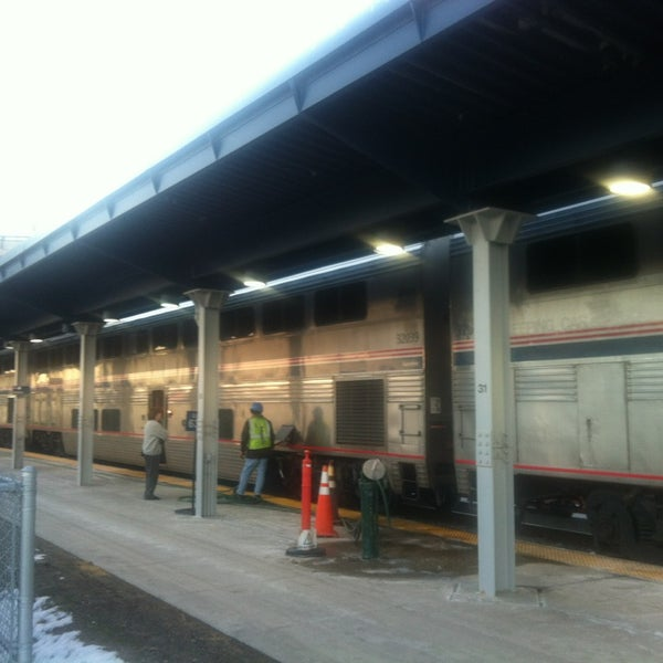 Photo taken at Denver Amtrak (DEN) by Michael W. on 12/13/2013