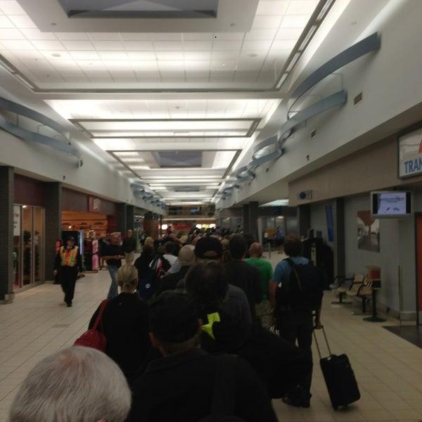 Photo taken at Saskatoon John G. Diefenbaker International Airport (YXE) by Bill M. on 7/20/2013
