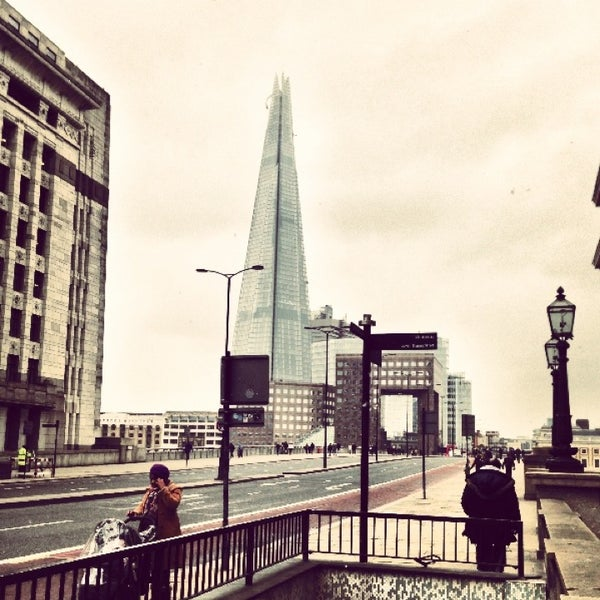 Photo taken at London Bridge by Ropson on 2/22/2013
