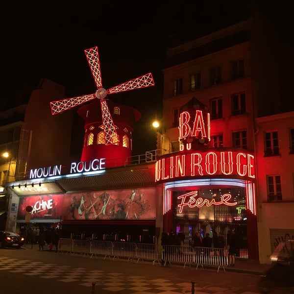 Photo taken at Moulin Rouge by S G. on 2/12/2015