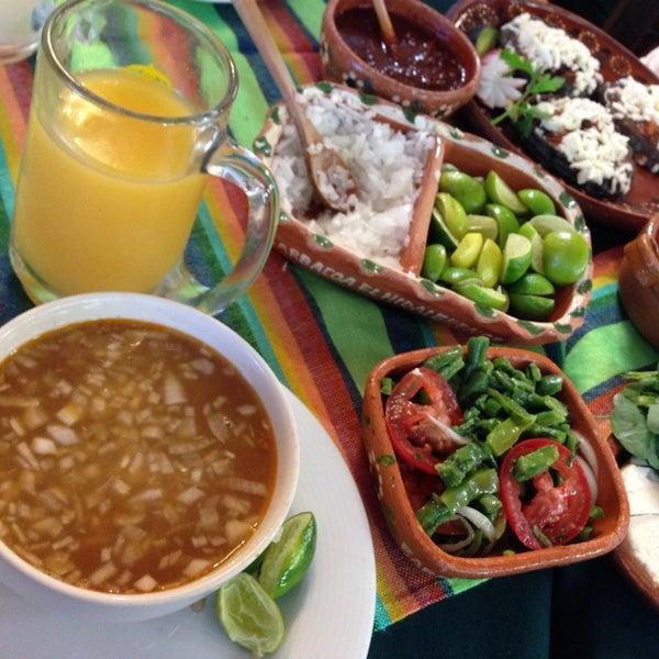 Hidalguense Restaurant In Mexico City