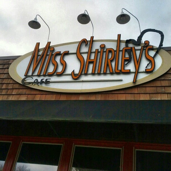 Photo taken at Miss Shirley's Cafe by Dan P. on 11/3/2012