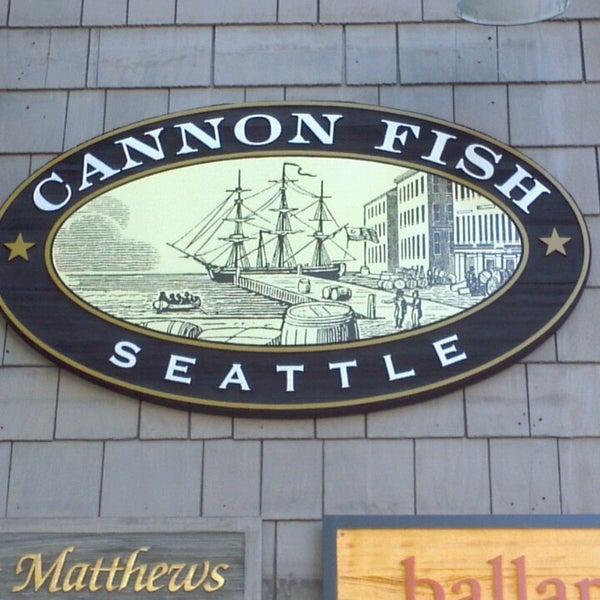 Cannon fish co interbay 3257 16th ave w for Cannon fish company