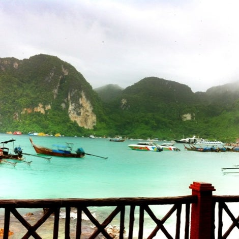 Photo taken at Phi Phi Island by Sean B. on 9/17/2012