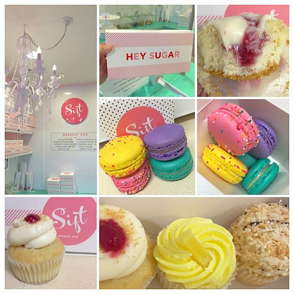 Photo taken at Sift Cupcake & Dessert Bar by Tanya H. on 7/13/2015