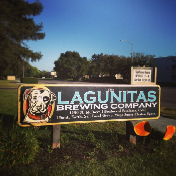 Photo taken at Lagunitas Brewing Company by Ryan S. on 6/3/2013