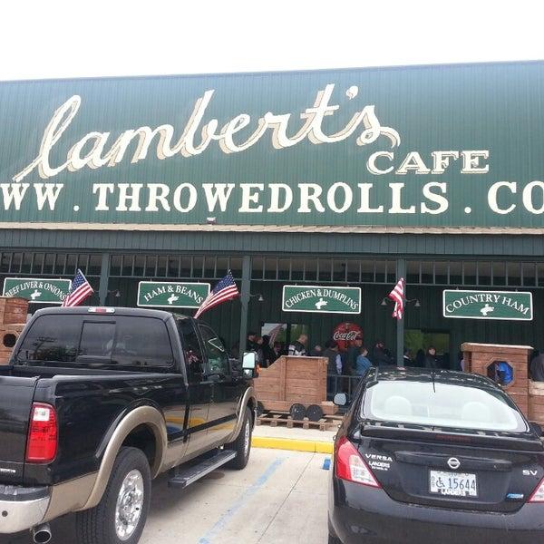 Photo taken at Lambert's Cafe by Lakesha B. on 5/5/2013