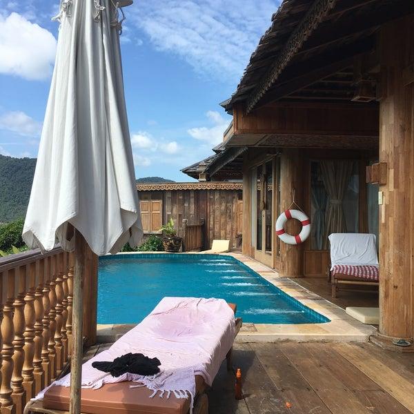 Photo taken at Santhiya Resort And Spa Koh Phangan by Laurent G. on 7/30/2016