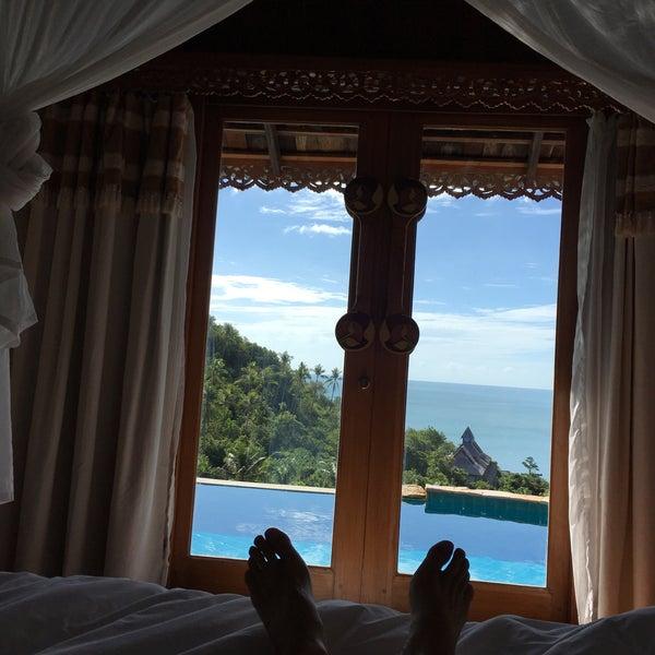 Photo taken at Santhiya Resort And Spa Koh Phangan by Laurent G. on 7/31/2016