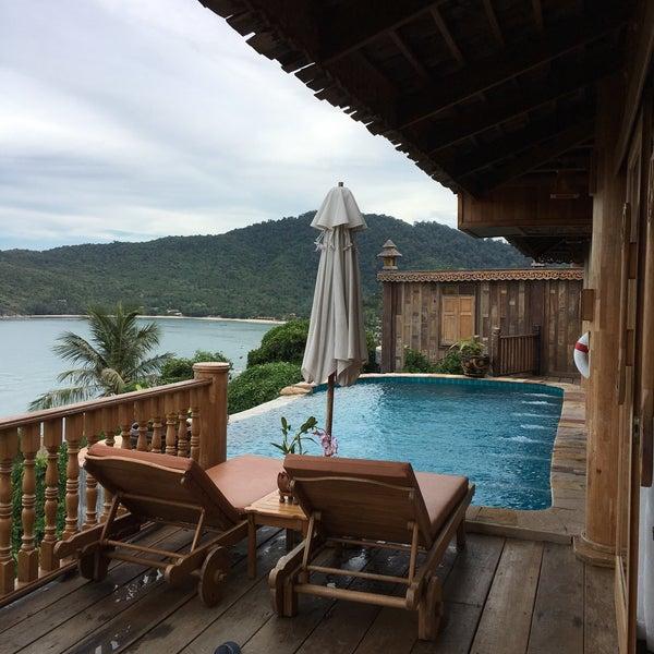 Photo taken at Santhiya Resort And Spa Koh Phangan by Laurent G. on 7/24/2016