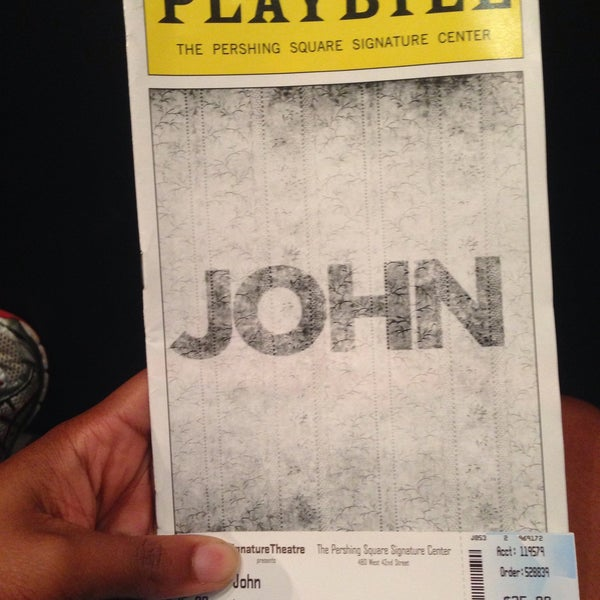 Photo taken at Pershing Square Signature Theater by Kimille H. on 9/5/2015