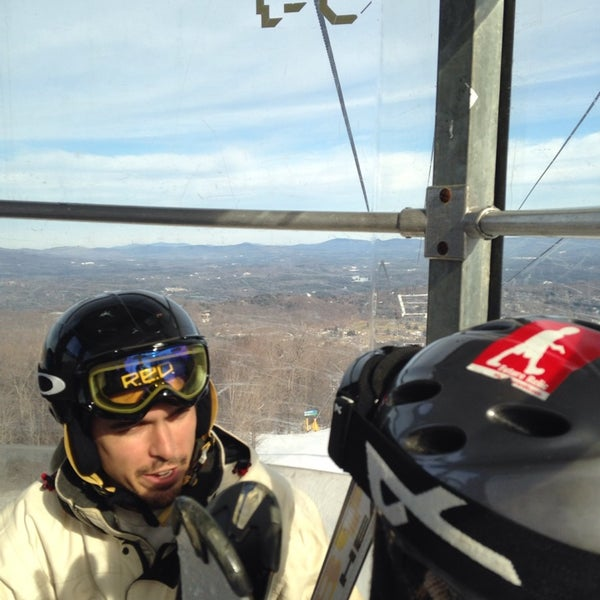 Photo taken at Stratton Summit Gondola by Cristin M. on 1/13/2014