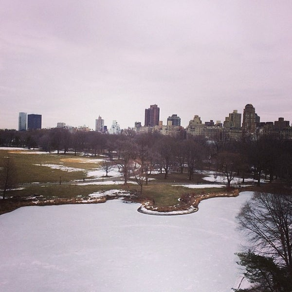 Photo taken at Belvedere Castle by Julyane L. on 3/7/2014