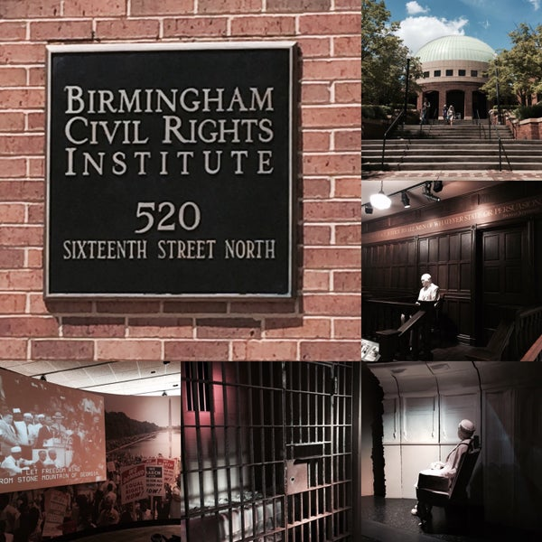 Photo taken at Birmingham Civil Rights Institute by David F. on 7/25/2015