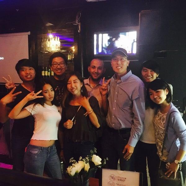 Photo taken at Chorus Karaoke and Cafe by momoe o. on 9/14/2016