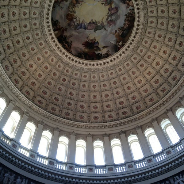 Photo taken at United States Capitol Building by Ali H. on 4/6/2013